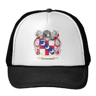 Escudo de armas de Lynam (escudo de la familia) Gorra
