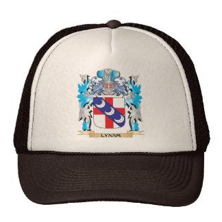 Escudo de armas de Lynam - escudo de la familia Gorras