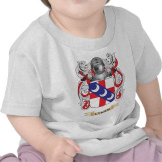 Escudo de armas de Lynam (escudo de la familia) Camiseta