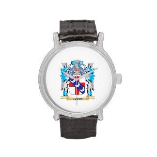 Escudo de armas de Lynam - escudo de la familia Relojes De Pulsera