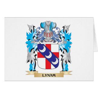 Escudo de armas de Lynam - escudo de la familia Tarjeta Pequeña