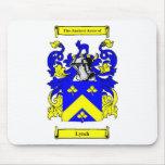 Escudo de armas de Lynch Alfombrillas De Raton