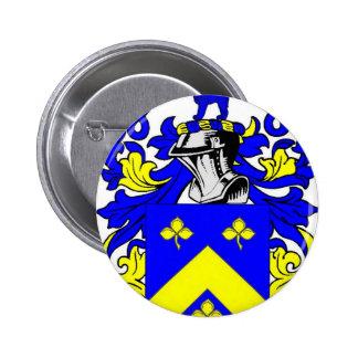 Escudo de armas de Lynch Pin Redondo De 2 Pulgadas