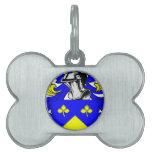 Escudo de armas de Lynch Placas De Mascota