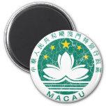 Escudo de armas de Macao Imán De Nevera