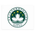 Escudo de armas de Macao Postal