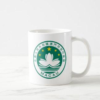 Escudo de armas de Macao Taza De Café