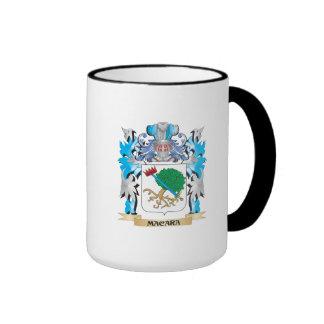 Escudo de armas de Macara - escudo de la familia Taza A Dos Colores