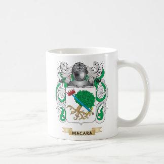 Escudo de armas de MacAra (escudo de la familia) Taza Básica Blanca