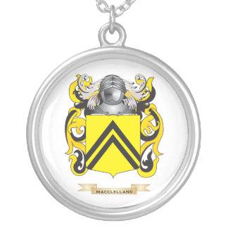 Escudo de armas de MacClelland (escudo de la famil Colgante Redondo
