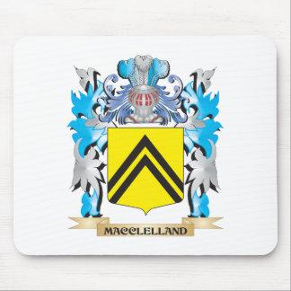 Escudo de armas de Macclelland - escudo de la Tapetes De Ratón