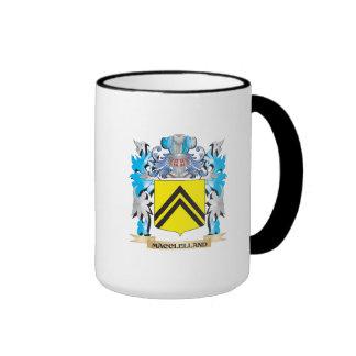 Escudo de armas de Macclelland - escudo de la Taza De Dos Colores