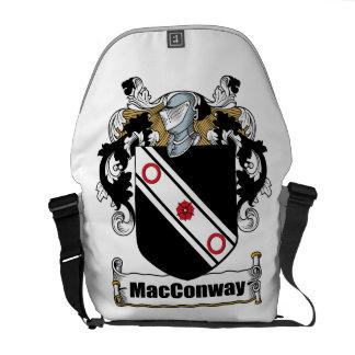 Escudo de armas de MacConway Bolsas Messenger