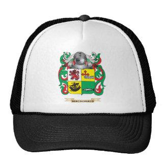 Escudo de armas de MacDonald- (pizarra) (escudo de Gorras