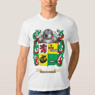 Escudo de armas de MacDonald- (pizarra) (escudo de Playeras