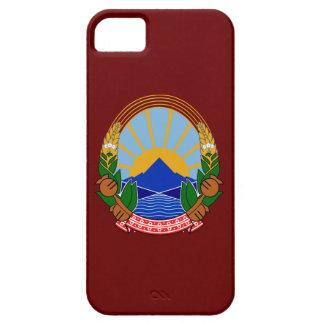 Escudo de armas de Macedonia iPhone 5 Coberturas