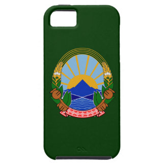 Escudo de armas de Macedonia iPhone 5 Case-Mate Cárcasas