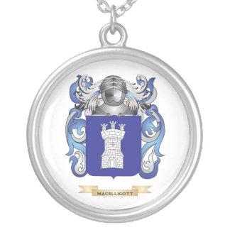 Escudo de armas de MacElligott (escudo de la famil Colgante Redondo