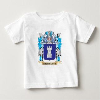 Escudo de armas de Macelligott - escudo de la Tee Shirts