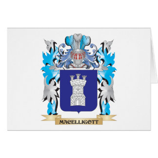 Escudo de armas de Macelligott - escudo de la Tarjeta Pequeña