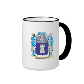 Escudo de armas de Macelligott - escudo de la Taza A Dos Colores