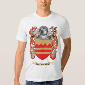 Escudo de armas de MacGarry (escudo de la familia) Remeras