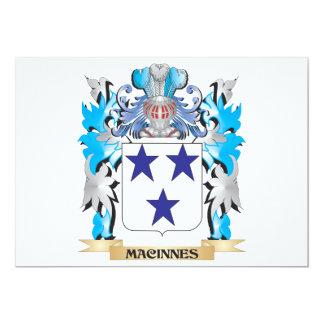 Escudo de armas de Macinnes - escudo de la familia Invitaciones Personales