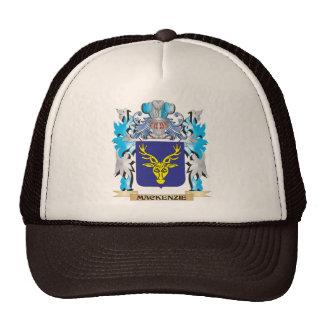 Escudo de armas de Mackenzie - escudo de la Gorras