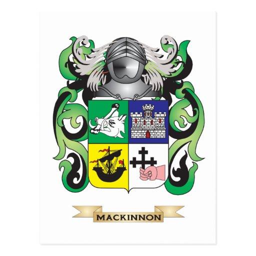 Escudo de armas de MacKinnon (escudo de la Tarjetas Postales