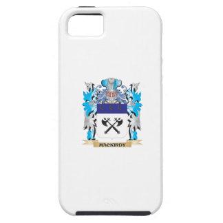 Escudo de armas de Mackirdy - escudo de la familia iPhone 5 Cárcasa
