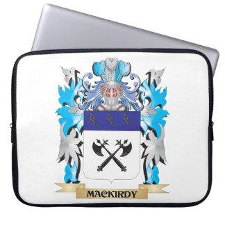 Escudo de armas de Mackirdy - escudo de la familia Fundas Portátiles