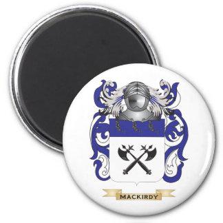 Escudo de armas de MacKirdy (escudo de la familia) Imán Redondo 5 Cm