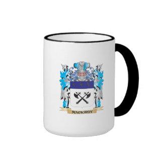 Escudo de armas de Mackirdy - escudo de la familia Taza
