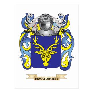 Escudo de armas de MacRae (escudo de la familia) Postal