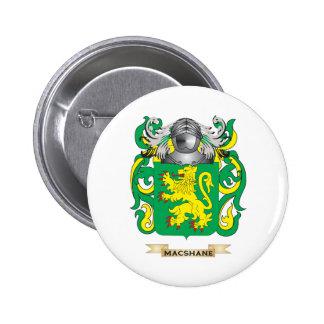 Escudo de armas de MacShane (escudo de la familia) Pins