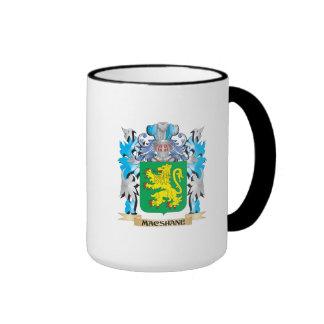 Escudo de armas de Macshane - escudo de la familia Taza De Dos Colores