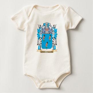 Escudo de armas de madera - escudo de la familia mameluco de bebé