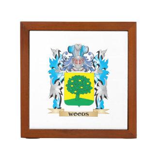 Escudo de armas de maderas - escudo de la familia portalápices