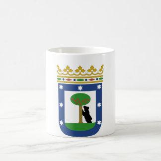 Escudo de armas de Madrid España Taza