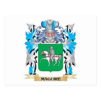 Escudo de armas de Maguire - escudo de la familia Postales