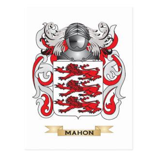 Escudo de armas de Mahon (escudo de la familia) Postales