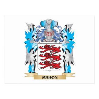 Escudo de armas de Mahon - escudo de la familia Postal