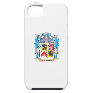 Escudo de armas de Mahoney - escudo de la familia iPhone 5 Funda