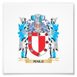 Escudo de armas de Maile - escudo de la familia Fotos