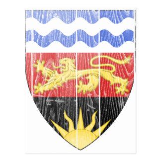 Escudo de armas de Malawi Postales