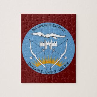 Escudo de armas de Malí Rompecabeza Con Fotos