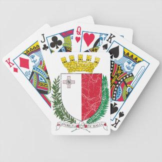 Escudo de armas de Malta Cartas De Juego