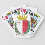 Escudo de armas de Malta Barajas De Cartas