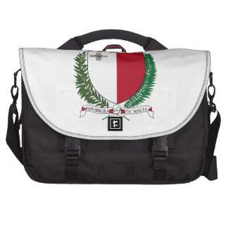 Escudo de armas de Malta Bolsas Para Ordenador