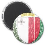 Escudo de armas de Malta Imanes
